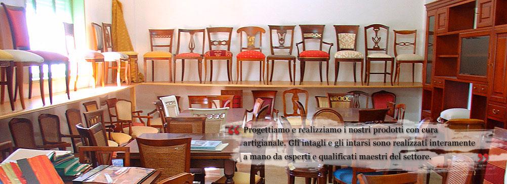 Fabbrica sedie produzione di sedie poltrone pouff for Fabbriche mobili opinioni